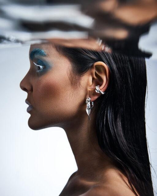 Mollusca Ear Cuff ° Zostera Marina Earring