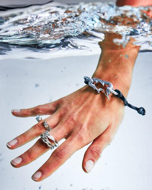 Glitch Bracelet ° Medusozoa Ring ° Mollusca Rings